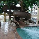 1 of the 2 pool slides