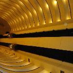 Interior, elevators