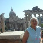 The Roman Forum is a magnificent monument of antiquity