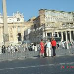 The Vatican and St. Peter's Square on St. Peter's Day, June 29, 2012