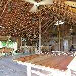 This is the restaurant and bar, the common area/beach house.