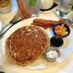 Serious huge fluffy pancakes....yummy!