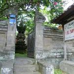 Entrance Jalan Sriwedari 35