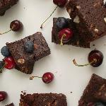 Leighs chocolate brownies - tons of dark chocolate!!! sometimes nuts or white chocolate nibs