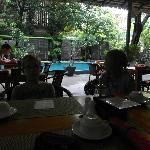 restaurangen vid poolen
