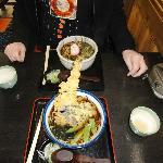 Soba and tempura  Yumm