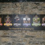 Selection of Beers brewed on site