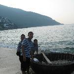 Basket boat fishing