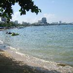 Pattaya bay view from the Point