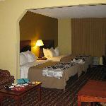 Sleep Inn suite