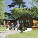 Park Lodge Setting at Parkdean St Minver Holiday Park