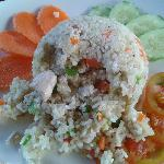 Khmer fried rice