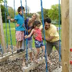 Outdoor Adventure Play Area at Parkdean St Minver Holiday Park