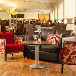 Relaxing at Mercure Maidstone Great Danes Hotel