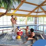 Indoor Swimming Pool at Parkdean Sundrum Castle Holiday Park