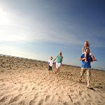 Ayr Beach at Parkdean Sundrum Castle Holiday Park
