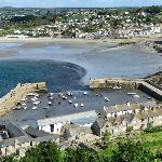 The Town of Marazion from St. Michaels Mount