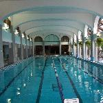 The gorgeous swimming pool.