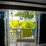 Utsikt från balkongen rum A208