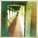 Walkway from guard tower to Leonardo's chambers