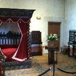 Leonardo's bed chambers