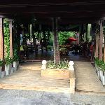 Entrance reception area.