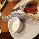 falafel wrap at Anatolian Kitchen