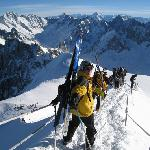 Chamonix Vallée Blanche with guides des cimes
