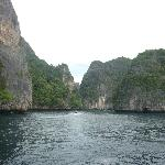 on the way to phi phi island