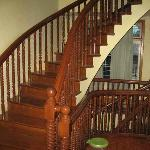 nice timber staircase.