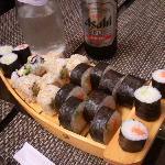 barchetta e birra giapponese