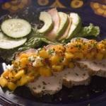 Pork Loin with Mango-Chipotle Salsa