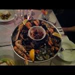 Hot shellfish platter for 2