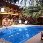 Pool und Gästehaus