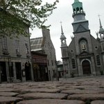 Maison Père de Calvet from the 1700's and the Oldest chapel in Montreal on rue St Paul