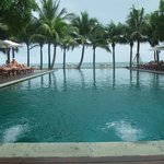 Infinity pool over looking the Gulf of Thailand