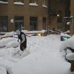 Chasse neige manuel !!!!!!