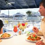 Couple Dining at Pier 49