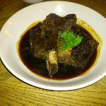 Rib of Beef in sugar sauce