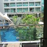 View from Poolview room