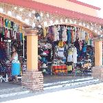 Shopping within walking distance from the resort