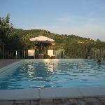 Fin d'aprés midi à la piscine.