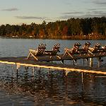 Fish, swim or boat right off the 5 guest docks