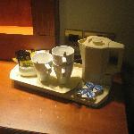 occorrente per il tea ed il caffè solubile