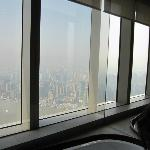 Une vue sidérante, ici un jour de brume