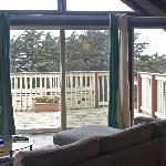 Deck penthouse room