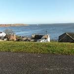 A wintery view of Filey.
