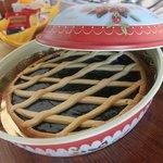 Torta deliciosa deixada pela Jussara