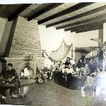 The Casa as it looked in the 1950's with some of its many guests