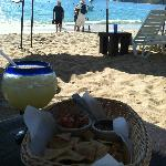 Margaritas, chips, the beach - what else do you need?